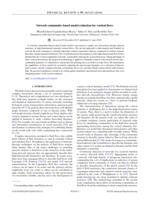Network Community-based Model Reduction For Vortical Flows