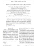 Exploring Low Internal Reorganization Energies For Silicene Nanoclusters