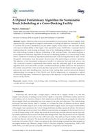 Diploid Evolutionary Algorithm For Sustainable Truck Scheduling At A Cross-docking Facility