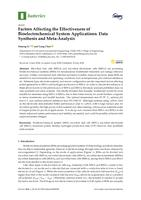 Factors Affecting The Effectiveness Of Bioelectrochemical System Applications