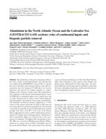 Aluminium In The North Atlantic Ocean And The Labrador Sea (geotraces Ga01 Section)