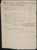 Account Sales for 38 Bales Cotton, February 8, 1859