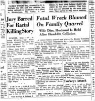 Jury Barred For Racial Killing Story, Detroit Free Press