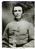 Photograph of Hugh Black in military uniform