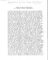 Transcription of diary excerpt of Hugh Black