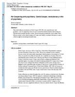 Re-Coopering anti-psychiatry