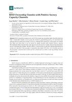 RFID Ownership Transfer with Positive Secrecy Capacity Channels.