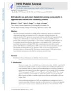 Extradyadic sex and union dissolution among young adults in opposite-sex married and cohabiting unions.