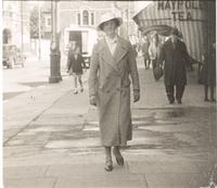 Bristol. Florence Dirac walking