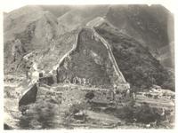 China. Long shot of the Great Wall