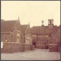 Bristol. The schoolyard of Bishop Road Primary School