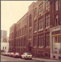 Bristol. Buildings on Unity Street