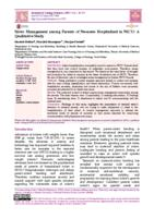 Stress Management among Parents of Neonates Hospitalized in NICU