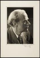 Cambridge. Paul Dirac formal portrait by Ramsey & Muspratt