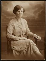 Bristol. Formal portrait of Florence Dirac