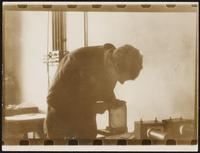 Cambridge. Paul Dirac working at Cavendish Lab