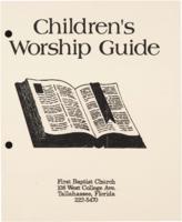 Children's Worship Guide