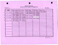 Feature 1, Inventory Form for Features in Multiple Units, Page 2