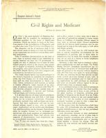 Surgeon General's report: Civil Rights and Medicare