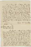 Letters from Moses Elisa Levy Yulee and Genealogical data