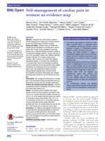 Self-management of cardiac pain in women