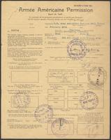 Armée Américaine Permission