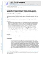 Perceiving the Usefulness of the National Cancer Institute Metathesaurus for Enriching NCIt with Topological Patterns.