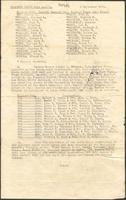 "Ernest ""Boots"" Thomas transfer order mailed to his mother, Martha Thorton Thomas, September 3, 1942"