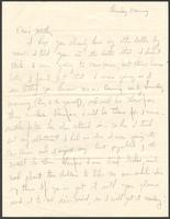 """Ernest """"Boots"""" Thomas letter to his mother, Martha Thorton Thomas, December 17, 1942"""