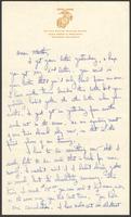 "Ernest ""Boots"" Thomas letter to his mother, Martha Thorton Thomas, July 9, 1944"