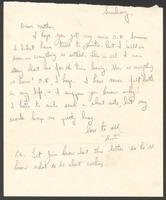 "Ernest ""Boots"" Thomas letter to his mother, Martha Thorton Thomas, March 12, 1944"
