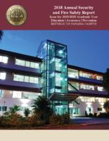2018 Annual Security and Fire Safety Report Republic of Panama Campus