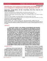 Identification and functional characterization of circRNA-0008717 as an oncogene in osteosarcoma through sponging miR-203.