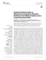 Impaired Antisaccades in Obsessive-Compulsive Disorder