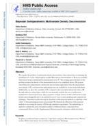 Bayesian Semiparametric Multivariate Density Deconvolution.