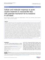 Cellular and molecular responses to acute cocaine treatment in neuronal-like N2a cells