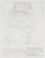 115 Volt, Single Phase General Electric Motor and Starter to Reverse Polarity-Interchange Motor Leads 1 and 4