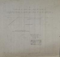 F and V Building Services Plan of Contour Curtain Looking From Backstage Toward Auditorium