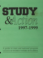 Study and Action: 1997-1999