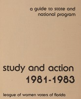 Study and Action: 1981-1983