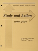 Study and Action: 1989-1991
