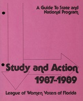 Study and Action: 1987-1989