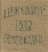 Leon County 1932 Senior Council scrapbook