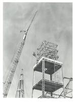 Building the Steeple of the First Baptist Church