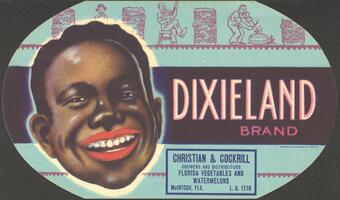 Dixieland brand label