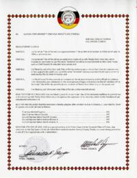 Resolution by the Tribal Council of the Seminole Tribe of Florida
