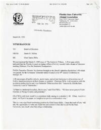 Documents related to the Seminole Symbol controversy