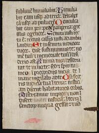 Bible. Selections. 1400