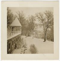 Baker Institute in winter