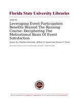 Leveraging Event Participation Benefits Beyond The Running Course